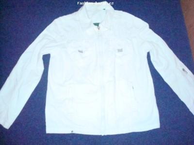 Bílá pánská bunda