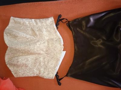 Šaty plesové /maturitní/ sukně + korzet vel. 40