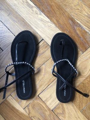Anna Field černé sandále