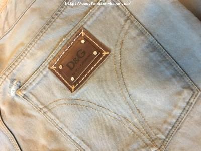 Originál nové pánské kalhoty Dolce a Gabbana (ofic. velikost 35, pocitově cca 33)
