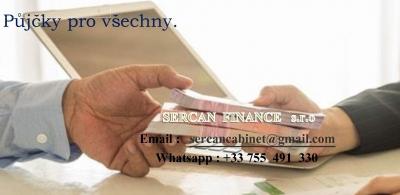Rychlý a garantovaný prístup k půjčky.