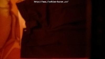 pánské černé kalhoty k saku